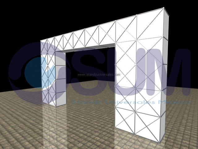 Stands Para Expo : Arcos de acceso a expos y convenciones│stands universales